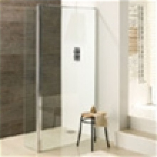 Eastbrook - Valliant Walk-In Front Panel 1200mm With Flipper