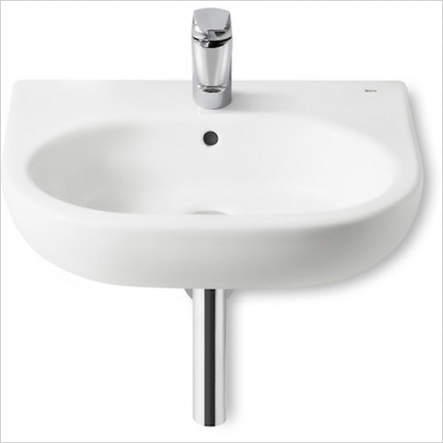 Roca - Meridian-N Wall Hung Basin 550 x 460mm 1TH