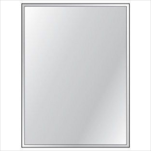 HIB - Bevelled Mirror 4mm Float Glass 60 x 45cm - Priced Per Pack