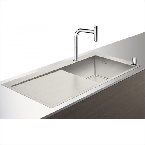 Hansgrohe - Bathrooms - C71-F450-07 Sink Combination 450mm With Drainboard