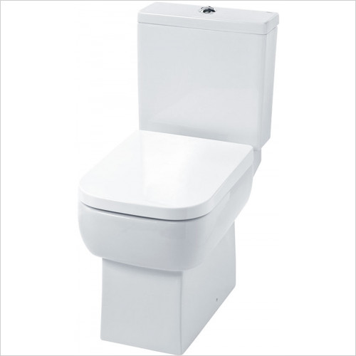 essentials - Orchid Close Coupled WC Set With Seat