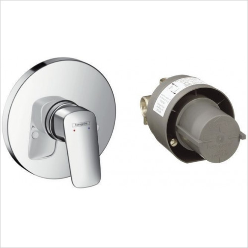 Hansgrohe - Bathrooms - Logis Shower Mixer Concealed Set Cpl.