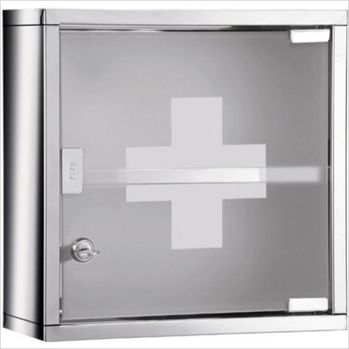 Bathroom Origins - Gedy Medicine Cabinet 'Plus' Square