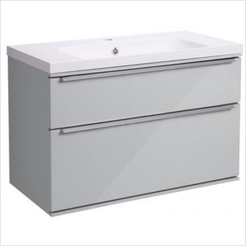 Roper Rhodes - Scheme 800mm Wall Mounted Double Drawer