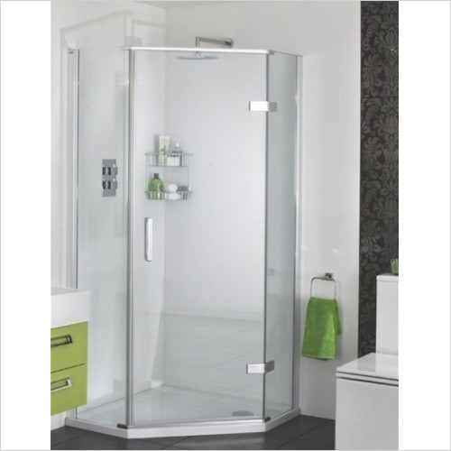 Aqata - Spectra Quintet 1400x900mm RH Hinged Door