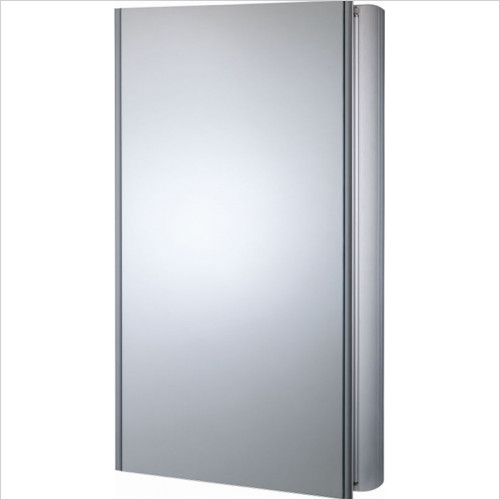 Roper Rhodes - Ascension Limit Slimline Single Mirror Glass Door Cabinet