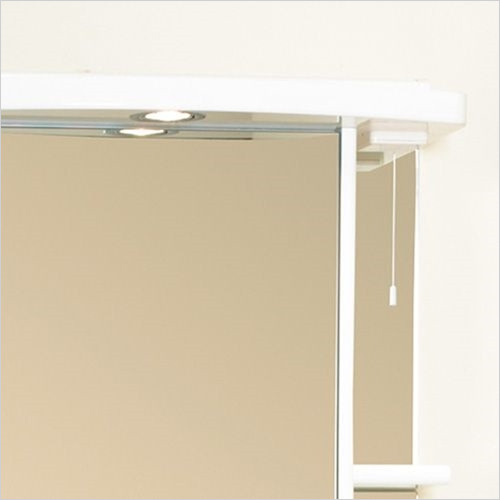 Eastbrook - 600mm Light Cabinet Cornice, 1 Spot