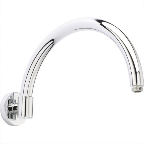 Bayswater - Wall Mounted Curved Shower Arm