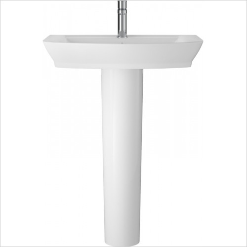 Hudson reed - Maya 650mm Basin & Semi Pedestal
