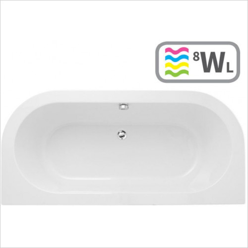 Moods - Decadence Double End 1700 x 800mm 0TH Bath