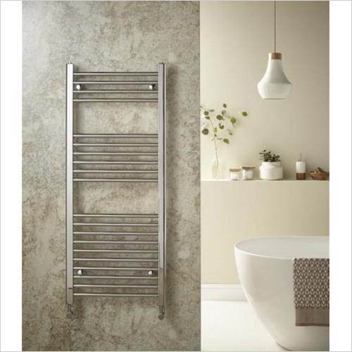 Redroom - Elan Straight Towel Warming Radiator 1200 x 400mm