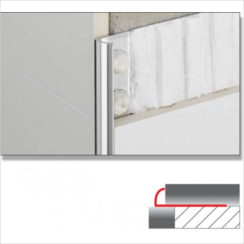 Abacus - Quad Tile Trim 8mm