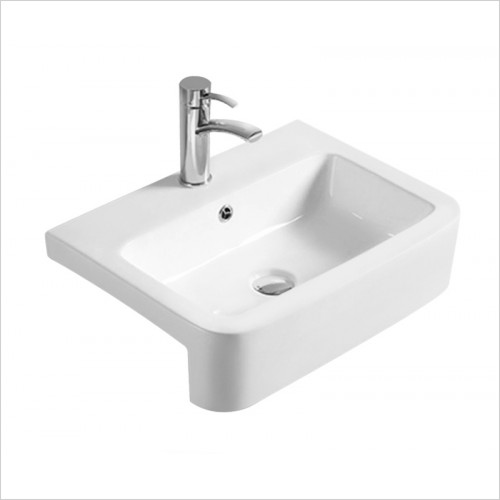 Hudson reed - Rectangle Semi Recess Basin W563xD410xH155