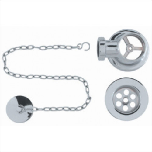 BC Designs - Plug & Chain Concealed Bath Waste