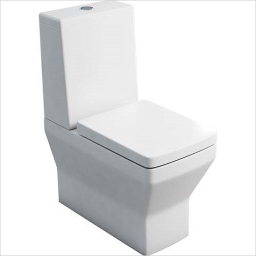 Britton - Close Coupled WC With Standard Cistern Lid
