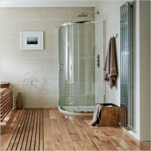 Scudo Bathrooms - i6 Single Door Quadrant Shower Enclosure