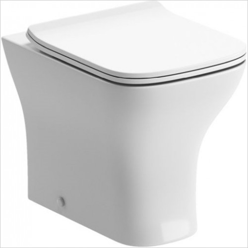 Moods - Cedarwood Back To Wall WC With Soft Close Seat