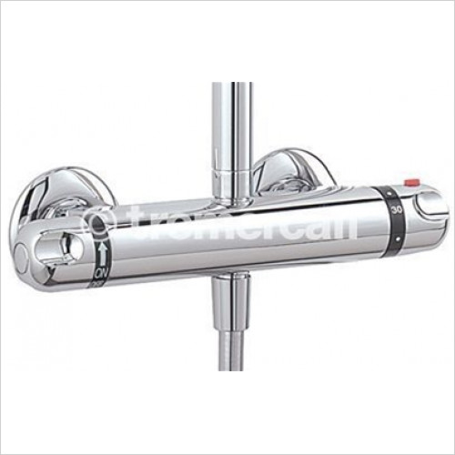 Tremercati - Roma Exposed Thermostatic Double Ended Shower Valve