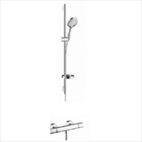 Hansgrohe - Bathrooms - Exposed Valve with Raindance Select Rail Kit