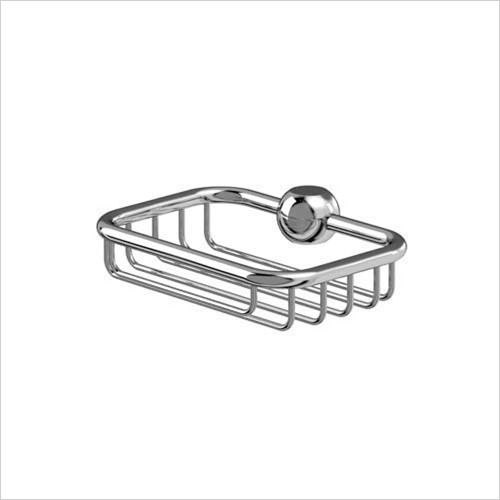Burlington - Bathrooms - Soap Basket For Vertical Riser