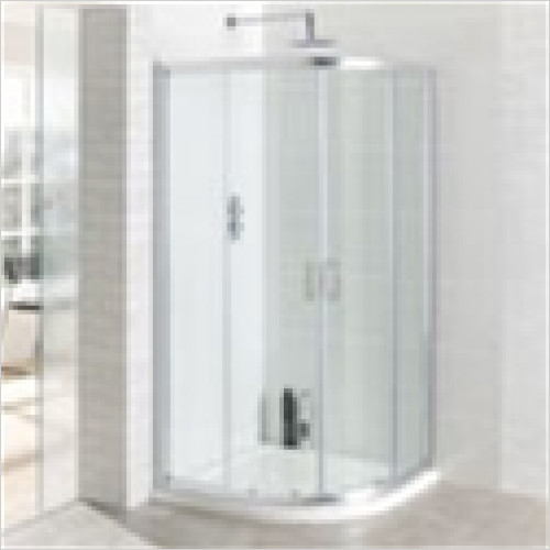 Eastbrook - Vantage Easy Clean Quadrant Enclosure 800mm