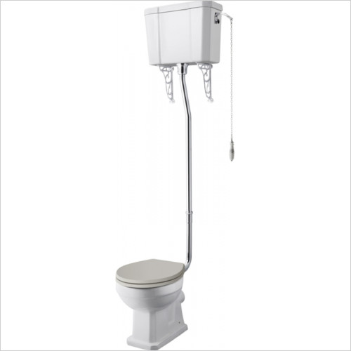Hudson reed - Comfort High Level WC & Flush Pipe