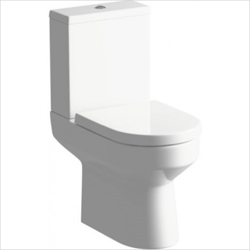 Moods - Laurus2 WC Pan Seat & Cistern With Fittings