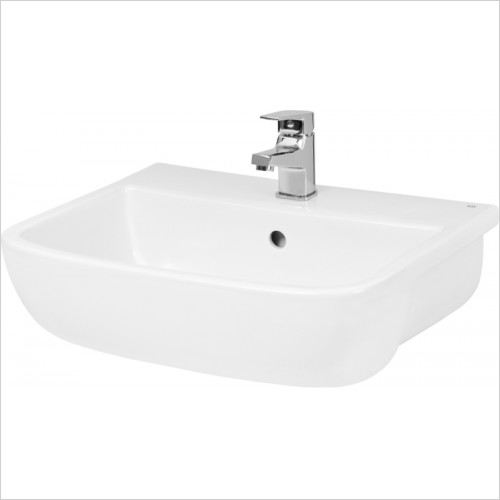 Hudson reed - Fossil Semi Recessed Basin 250 x 425mm