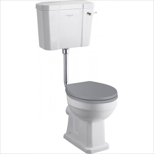 Bayswater - Fitzroy Low Level Cistern with White Ceramic Lever