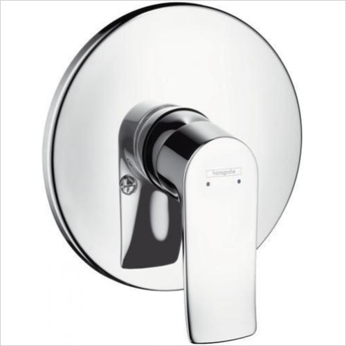 Hansgrohe - Bathrooms - Metris Shower Mixer Concealed Finish Set Export