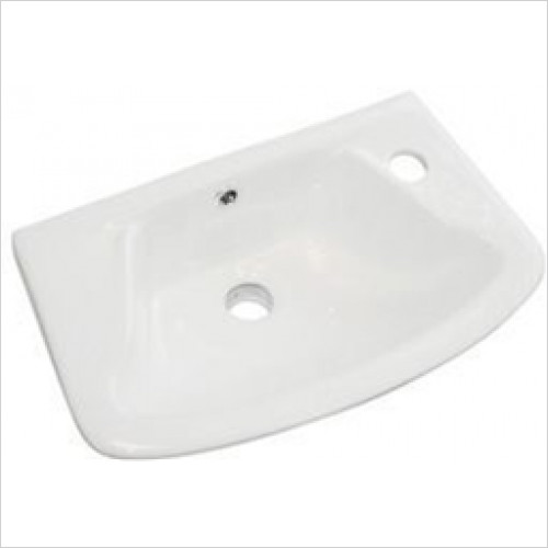 Eastbrook - Loire Cloakroom Basin 450 x 275mm 1TH RH