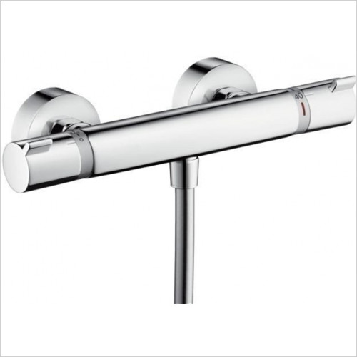 Hansgrohe - Bathrooms - Ecostat Comfort Thermostat Shower Mixer, Exposed