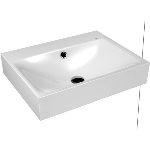 Kaldewei - Advantage Silencio Wall Hung Basin 120 x 46cm 1TH