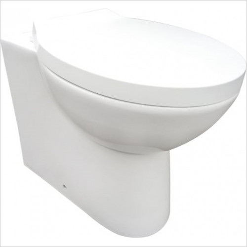 Scudo Bathrooms - Pronto Pronto Back To Wall Set Inc Seat