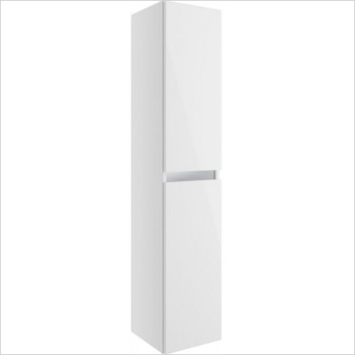 Moods - Carino 2 Door Wall Mounted Tall Unit 300mm