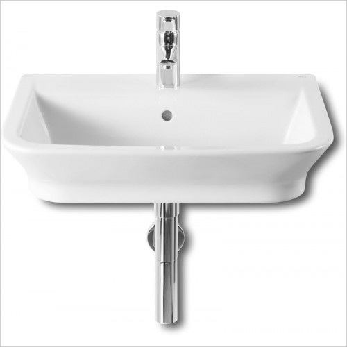 Roca - The Gap Wall Hung Basin 600 x 470mm 1TH