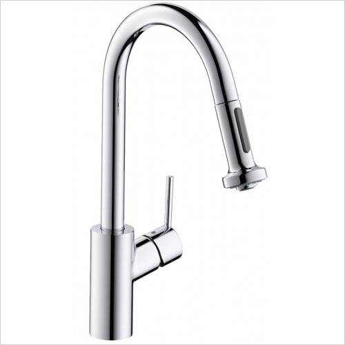 Hansgrohe - Bathrooms - M5216-H220 Single Lever Kitchen Mixer With Pull-Out Spray