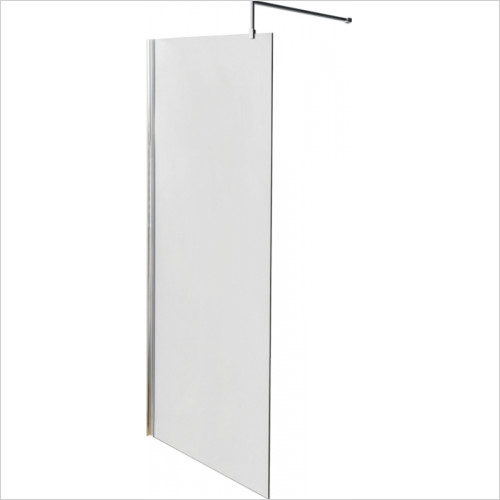Hudson reed - Wetroom Screen 700mm