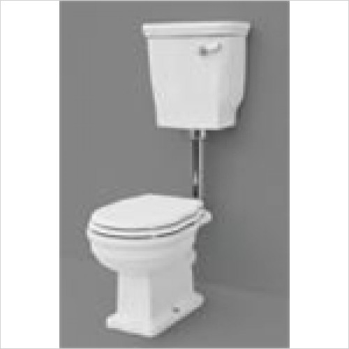 Eastbrook - Fino Low Level Ceramic Cistern Including Cover