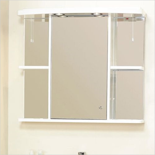 Eastbrook - 800mm Cabinet Mirror (No Cornice)
