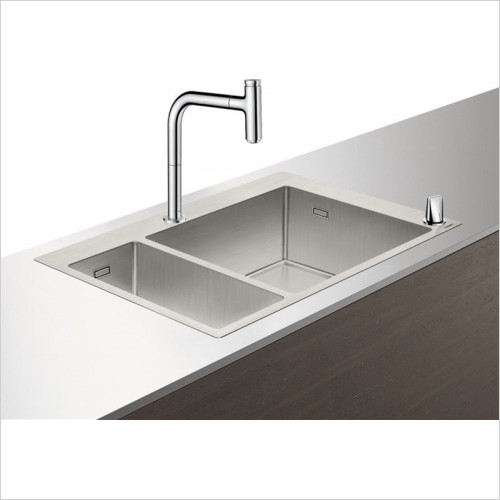 Hansgrohe - Bathrooms - C71-F655-09 Sink Combination 180 x 450mm