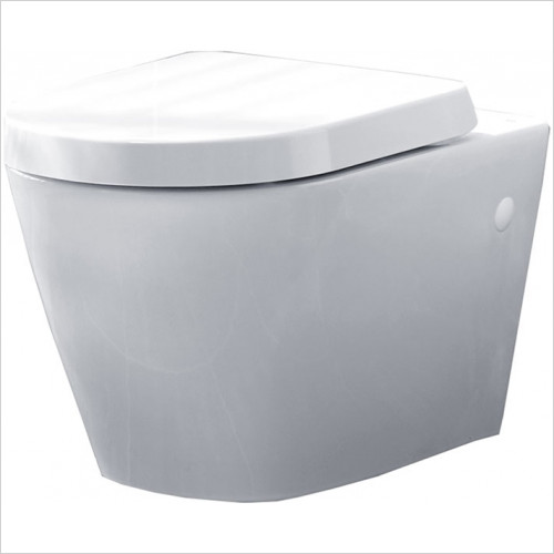 essentials - Ivy Wall Hung WC Pack Including Seat