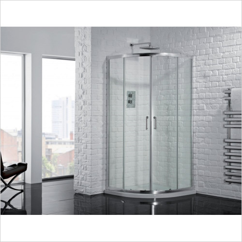 Aquadart - Venturi 6 Double Door Offset Quadrant 900 x 760mm