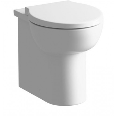 Moods - Mimosa Back To Wall WC With Soft Close Seat