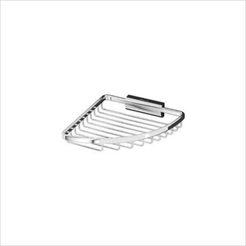 Inda - Accessories - Hotellerie Shallow Corner Soap Basket 19 x 4h x 20cm