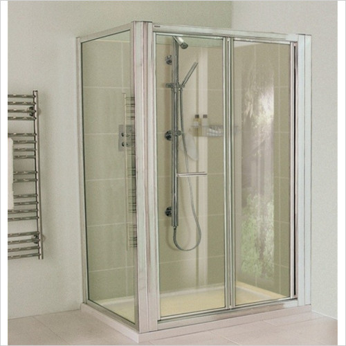 Aqata - ES Bi Fold Door, Corner Option 900x900mm RH