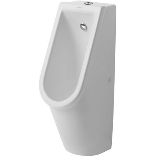 Duravit - Bathrooms - Starck 3 Urinal With Nozzle Visible Inlet With Fly