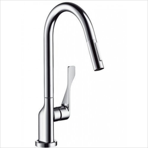 Hansgrohe Axor - Bathrooms - Citterio Single Lever Kitchen Mixer With Pull-Out Spray