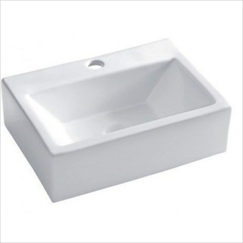 Bauhaus - Gerona Wall Mounted Counter Basin 425mm