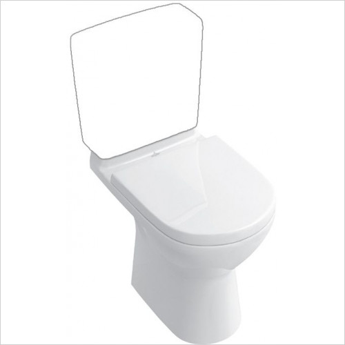 Abacus - D-Style Lite Close Coupled WC Pan